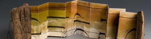 Collagen und Buchobjekte