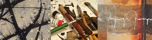 Schreibwerkzeug, Handschrift und Skripturales