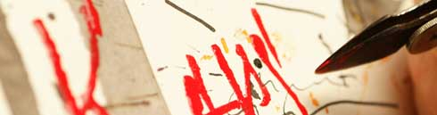 Handschrift gestalten im Mai