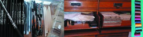 Materialien per Mail bestellen