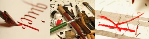 Schnupperkurs in Sachen Kalligrafie
